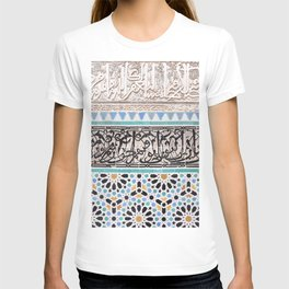 Tiles and Calligraphy T-shirt