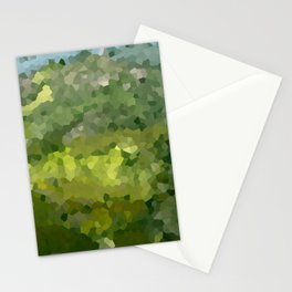 Mountain Forest Green Life Adventure Stationery Cards