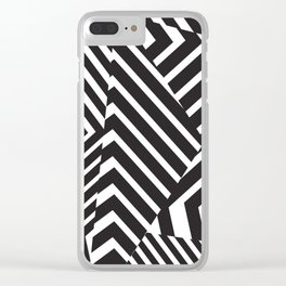 Pattern - Camo - Dazzle Clear iPhone Case