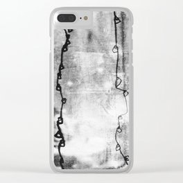 when things fell apart - ix Clear iPhone Case