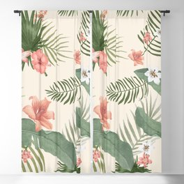 Tropical Nature Blackout Curtain