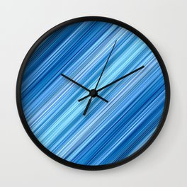 Ambient 1 in Blue Wall Clock