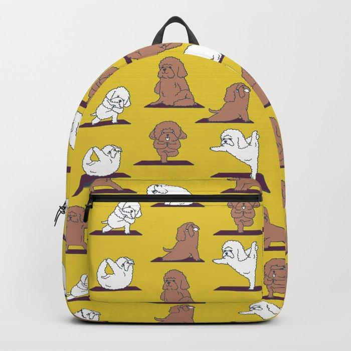 Poodle Yoga Backpack