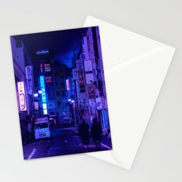 Tokyo Nights / Red Light District / Liam Wong Stationery Cards
