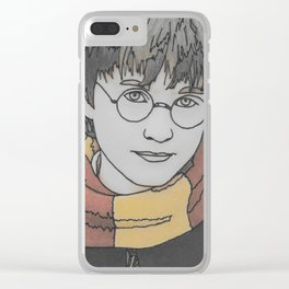 The Boy Who Lived Clear iPhone Case