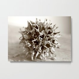 Ouch Metal Print