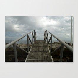 A Bridge to Adventure Canvas Print