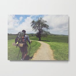 Through Farmlands • Appalachian Trail Metal Print