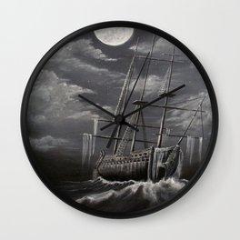 Storm Corrosion Wall Clock