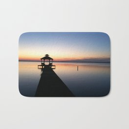 Sunset on the Water Bath Mat