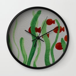 Going to School Wall Clock