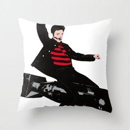 bom-boy Throw Pillow