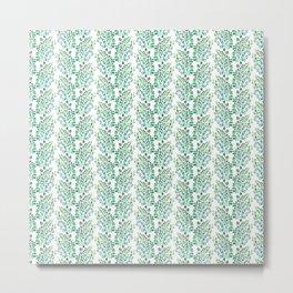 Aileen Pattern Metal Print