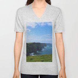 Cliffs of Moher Unisex V-Neck