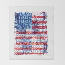 Liberty for all Throw Blanket