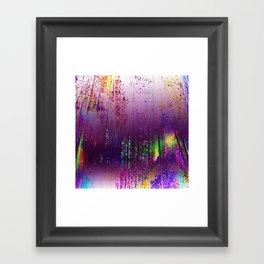 A Purple Haze Framed Art Print