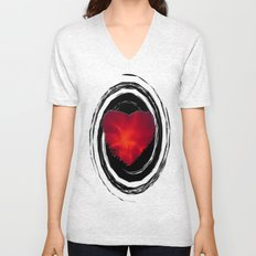 Flames Within Unisex V-Neck