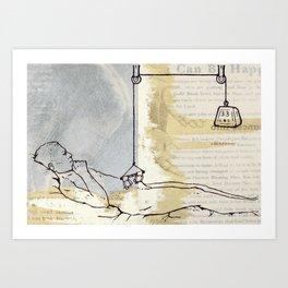 33 LBS Art Print