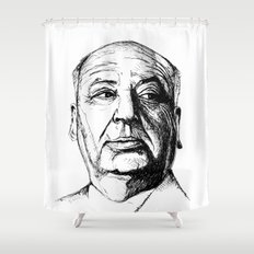 hitchcock Shower Curtain