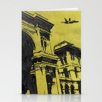 milan Stationery Cards featuring Milan 3 by Anand Brai