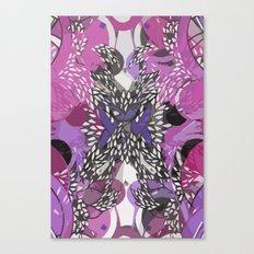 Rosen leafs  Canvas Print