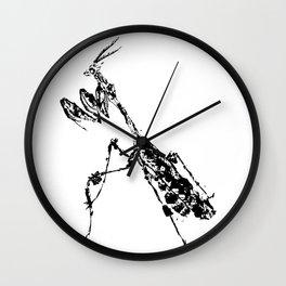 Violin Mantis Wall Clock