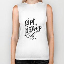 Girl power, empower girl print, GRL PWR, Feminist Art, Feminist Print, Feminist Quote, Minimalist Biker Tank