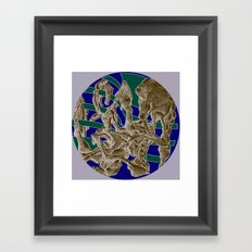 Combi Lizzard Framed Art Print