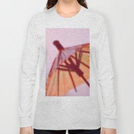 Sunshade behind the Glass Long Sleeve T-shirt
