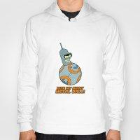 bender Hoodies featuring Bender Bending 8 by slurmo