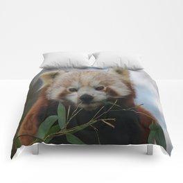 Beautiful Red Panda Comforters