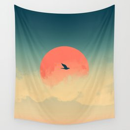Lonesome Traveler Wall Tapestry