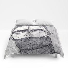 Alisa Ahmann by Txema Yeste - Artist: Leon 47 ( Leon XLVII ) Comforters