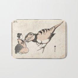 Geisha & Baby T-Rex Bath Mat