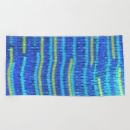 Summer by the Pool Beach Towel