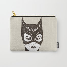 Cat Woman Sketch Meow Carry-All Pouch