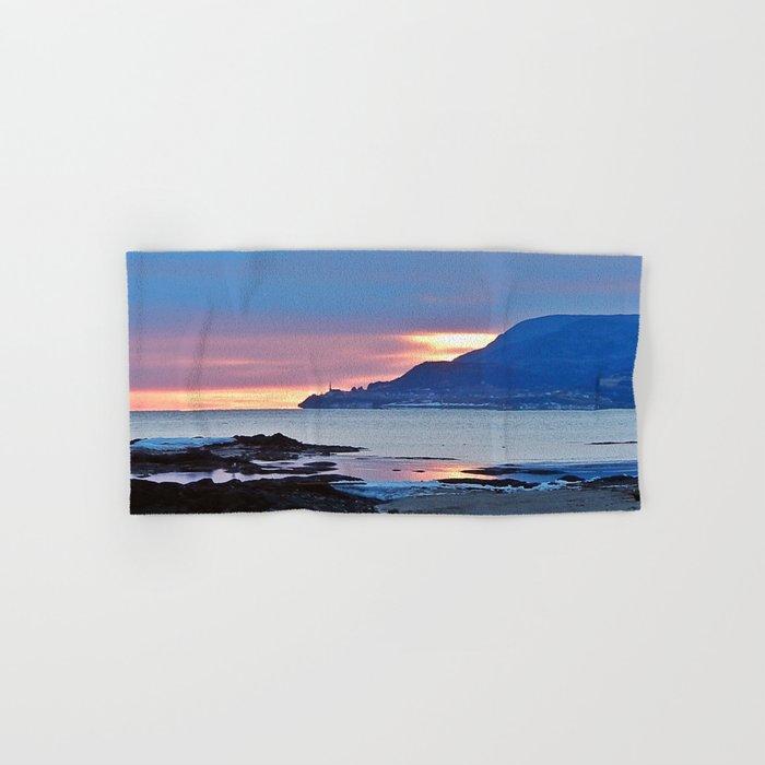 Sunrise in Tourelle Hand & Bath Towel