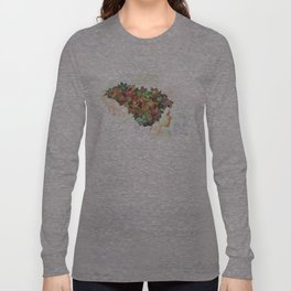 Autumn leaves of red and gold Long Sleeve T-shirt