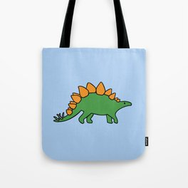 Cute Stegosaurus Tote Bag