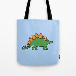 Cute Stegosaurus Tote Bag