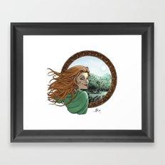 Elfic Framed Art Print