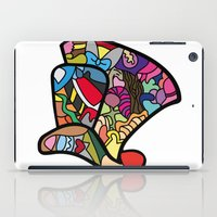 mad hatter iPad Cases featuring Mad hatter by Ilse S