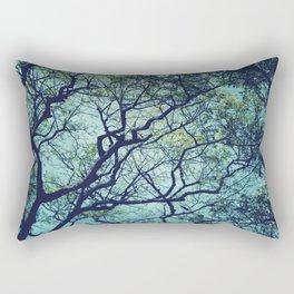 Rain Tree Rectangular Pillow