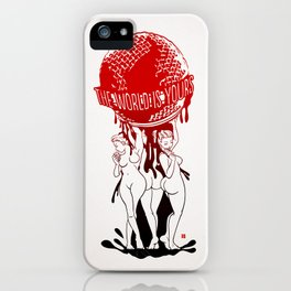 TWIY (TheWorldIsYours)  iPhone Case