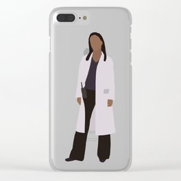 Martha Jones: The Doctor Clear iPhone Case