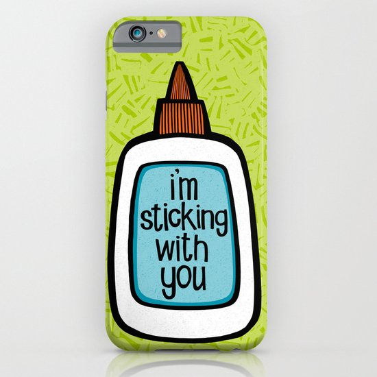 sticking with you iPhone & iPod Case