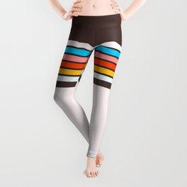 Vintage Striped Leggings
