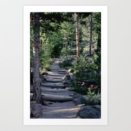 The Stairs To Heaven Art Print