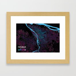 Portland, OR: The Age of a City Framed Art Print