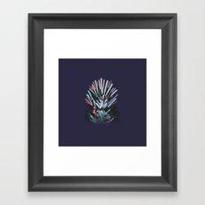 Throne Wars Framed Art Print